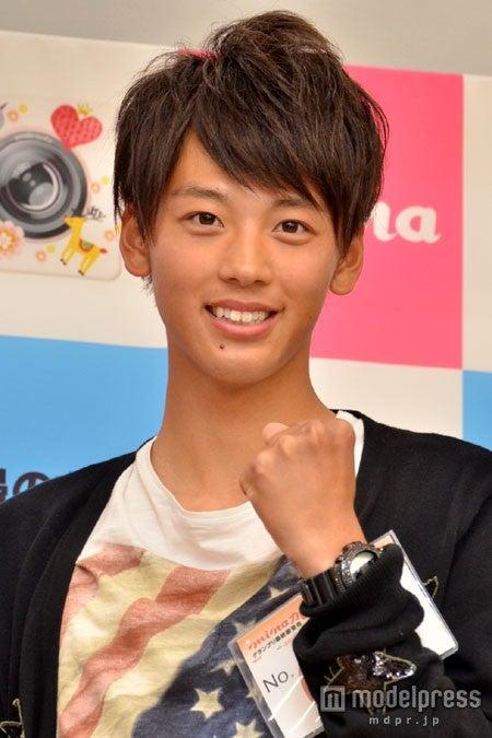 「minaカレ」オーディショングランプリを獲得した竹内崚(たけうちりょう)さん