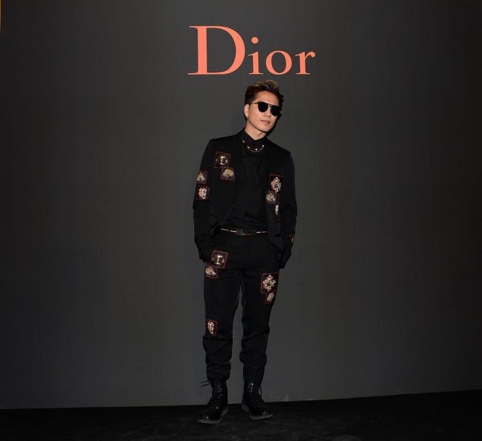 登坂広臣/「ディオールオム(Dior Homme)」2017-18秋冬コレクション(写真:Getty Images)