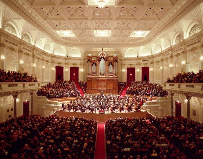 コンセルトヘボウの大ホール(c)Hans Samsom