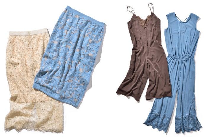 上品で色っぽい…大人の女性必見のスカート&オールインワン(C)TOPLOG