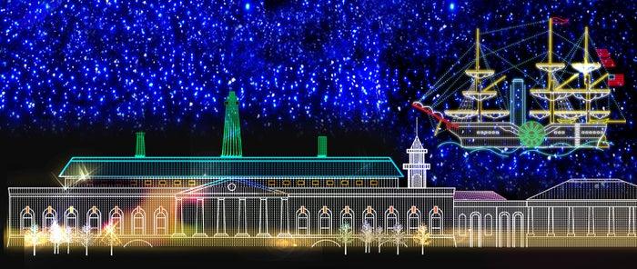 大阪イルミナージュ/画像提供:大阪城イルミナージュ事務局