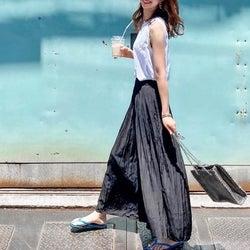 【ユニクロ】スカートに見える!「美人パンツ」は手抜きでもおしゃれに見えて超優秀