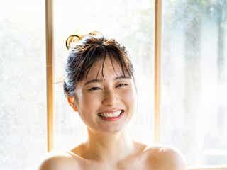 「キュウレンジャー」大久保桜子、温泉旅で美バスト披露