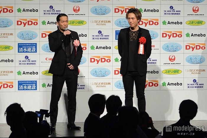 (左から)HIRO、登坂広臣