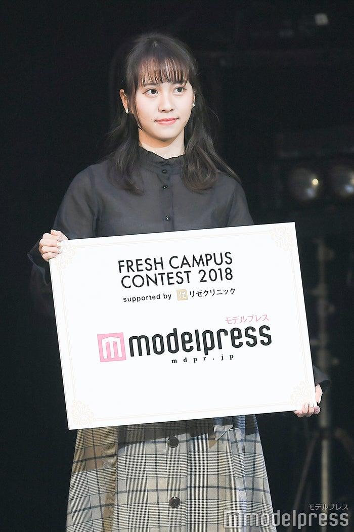 日本一の新入生を決めるミスコン「FRESH CAMPUS CONTEST 2018」モデルプレス賞・山中陽菜さん(C)モデルプレス