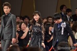 岩田剛典、百田夏菜子、新海誠監督 (C)モデルプレス