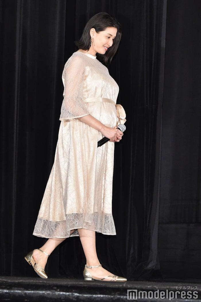 6月には妊娠9ヶ月の大きなお腹でイベントに登場していた橋本マナミ (C)モデルプレス