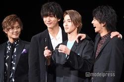 (左から)岩谷翔吾、浅香航大、横浜流星、中尾暢樹、菅原健、瀬戸利樹(C)モデルプレス