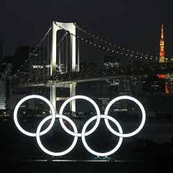 東京オリンピックモニュメント/Photo by Getty Images