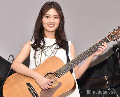 水谷果穂、バースデーワンマンライブでギター初挑戦 歌手としての夢を語る