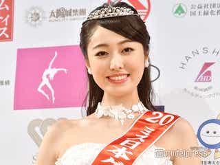 「ミス日本コンテスト2020」グランプリ決定 ミス慶應・小田安珠さんに栄冠
