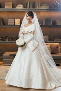 """新婚・藤澤恵麻、ウエディングドレス姿で挙式を振り返る """"花嫁""""にメッセージ"""