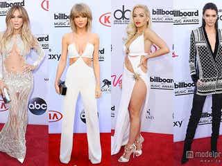 テイラー、リタ・オラらSEXYドレスで大胆肌見せ 「H&M」最新コラボラインも初披露