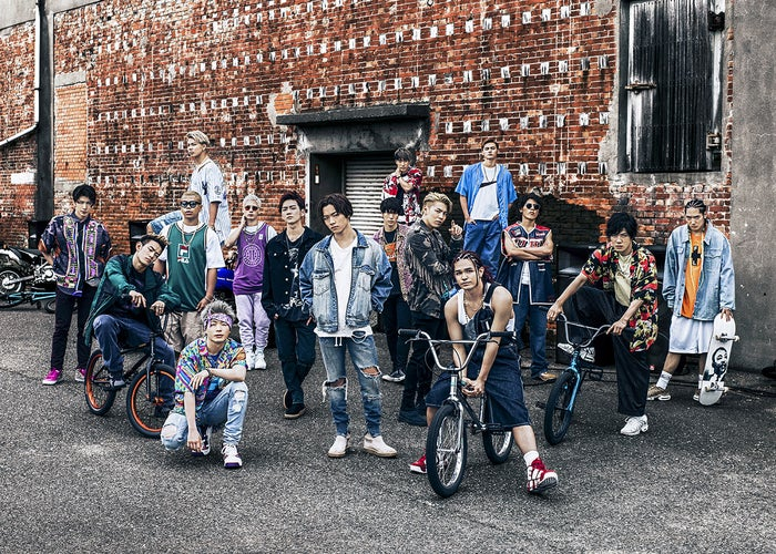 THE RAMPAGE from EXILE TRIBE(提供写真)