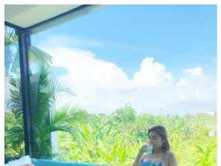 """古畑星夏、ビキニ姿で美ボディ披露「圧巻スタイル」「透明感すごい」おうち時間に""""ハマってしまった""""ものとは?"""
