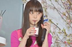 桜ドリンクを試飲