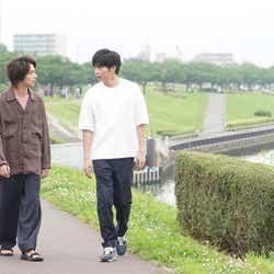 横浜流星、田中圭/「あなたの番です」第15話より(C)日本テレビ