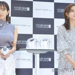 (左から)夏菜、堀田茜(C)モデルプレス
