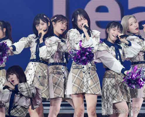AKB48チーム8、6年越し全国ツアー完走 小田えりな、本田仁美のサプライズに「悪いやつだ!」