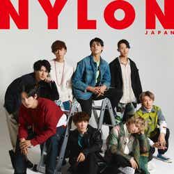 「NYLON JAPAN」3月号(カエルム/1月28日発売)表紙:Snow Man(C)NYLON JAPAN