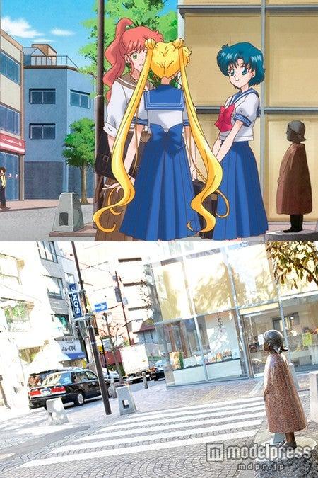 言わずと知れた「キミちゃん像」/(C)武内直子・PNP・講談社・東映アニメーション