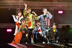 AAA、ヘッドライナーで5万人と一体に V.I(from BIGBANG)・E-girls・三浦大知ら集結「a-nation」に熱狂