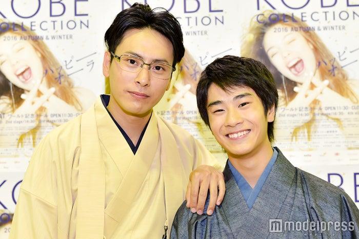 モデルプレスのインタビューに応じた山下健二郎、前田旺志郎(C)モデルプレス