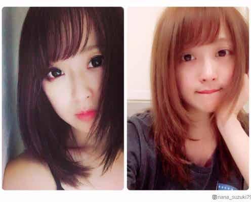 """鈴木奈々""""夏髪""""にイメチェンも「悩んでます」黒髪、茶髪どっちが好み?"""