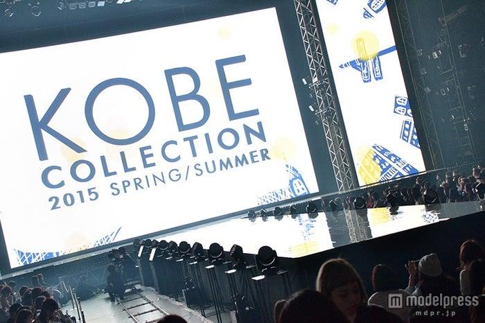 「神戸コレクション2015SPRING/SUMMER」会場の様子