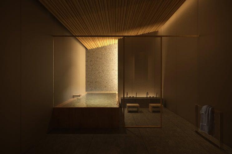 東京で貸切風呂を楽しむ贅沢!築地に和のブティックホテル「TSUKI」開業