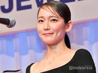 「第30回 日本ジュエリーベストドレッサー賞」を受賞した吉岡里帆(C)モデルプレス