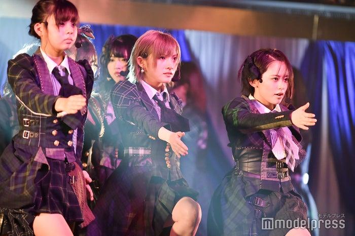 宮里莉羅、岡田奈々、濵咲友菜「AKB48 チーム4単独コンサート~友達ができた~」 (C)モデルプレス