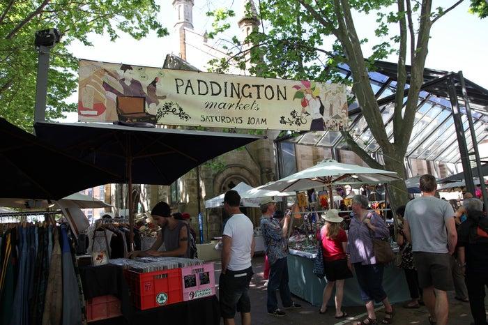 パディントン・マーケットの風景/Destination NSW