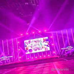 「第31回 マイナビ 東京ガールズコレクション 2020 AUTUMN/WINTER ONLINE」会場の様子(C)モデルプレス