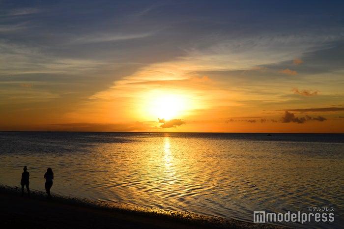 時間帯によって違った美しさを見せるサイパン島の海(C)モデルプレス