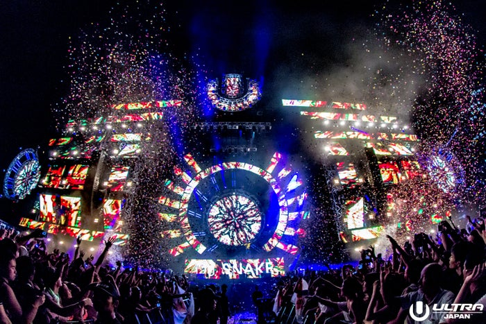 「ULTRA JAPAN」開幕 豪華DJ陣に4万人熱狂(C)ULTRA JAPAN 2016