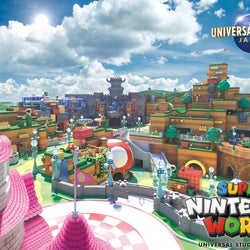 "USJ、任天堂エリア「SUPER NINTENDO WORLD」最新ビジュアル公開 クッパ城や""ヨッシーライド""も"