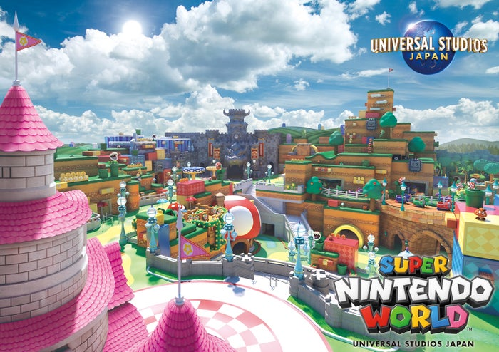 SUPER NINTENDO WORLD(C)Nintendo