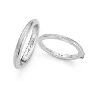 新元号を結婚指輪に刻んで♪ 「ケイウノブライダル」が「令和」と刻印する無料サービス