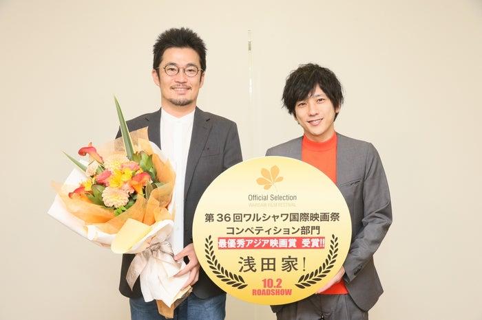 中野量太監督、二宮和也(C)2020「浅田家!」製作委員会