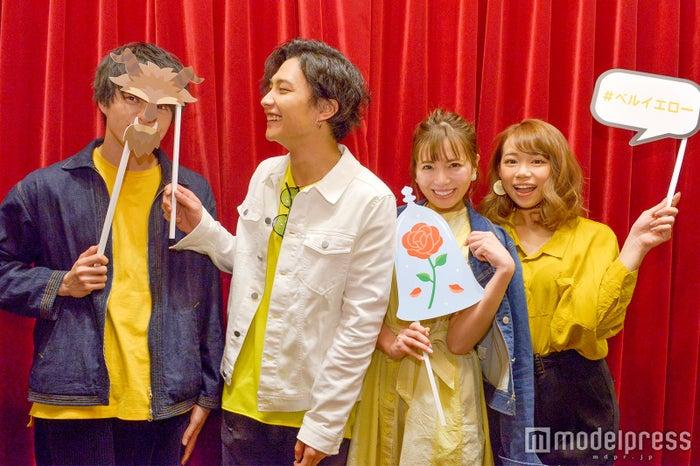 小南光司さん、時人さん、あいにゃんさん、せがしぃさん(C)モデルプレス
