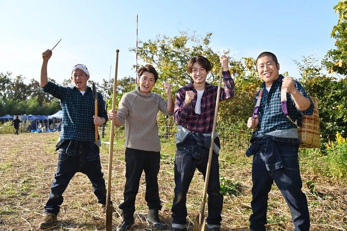 高橋茂雄、大野智、相葉雅紀、澤部佑(画像提供:テレビ朝日)