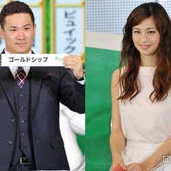 モデルプレス - 田中将大投手にどよめき 安田美沙子と一緒に歓喜