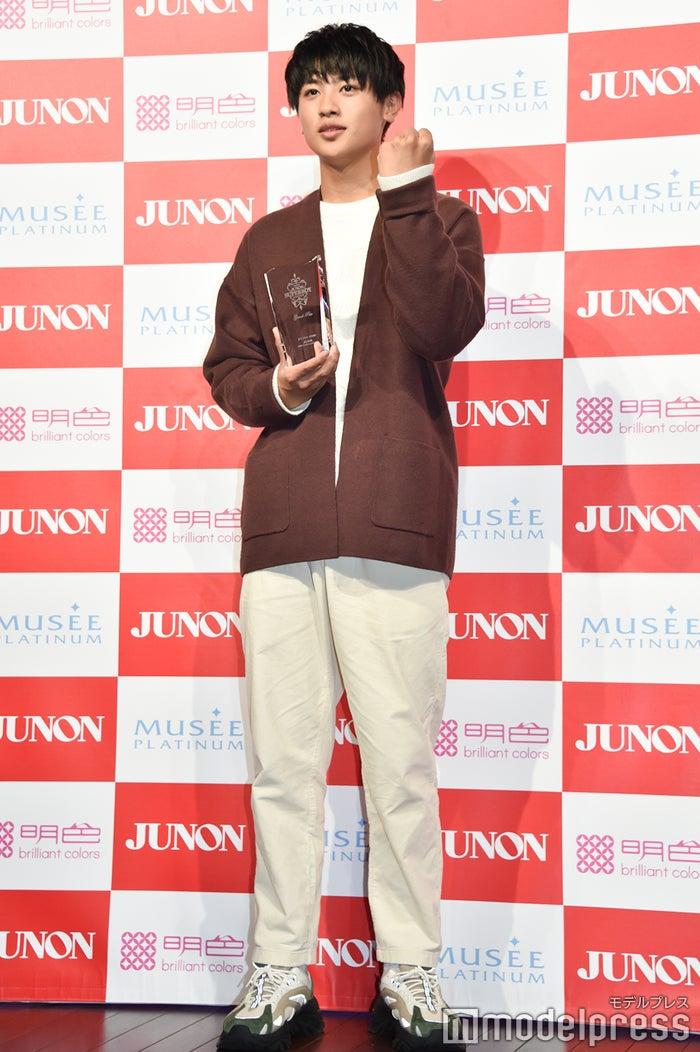 「第33回 ジュノン・スーパーボーイ・コンテスト」グランプリの前川佑さん (C)モデルプレス