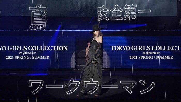土屋アンナ(C)マイナビ 東京ガールズコレクション 2021 SPRING/SUMMER