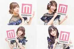 「ミュージックステーション ウルトラFES 2017」に出演した(左上から時計回りに)指原莉乃、柏木由紀、山本彩、宮脇咲良 (C)モデルプレス