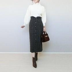 30代40代こそ重宝する「タイトスカート」。 選び方のポイントや正解コーデを大公開!