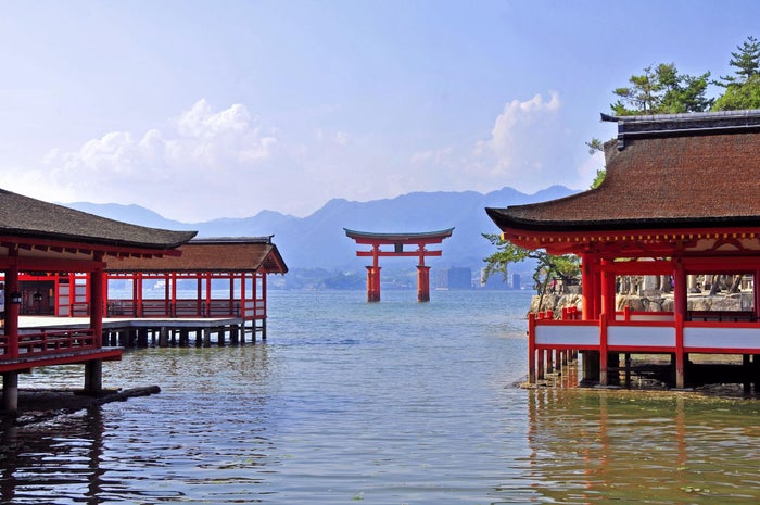 日本三景の宮島(写真提供:広島県)