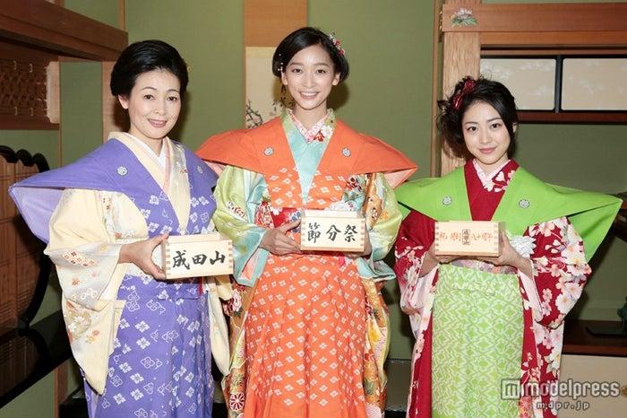 財前直見、杏、松浦雅(C)NHK