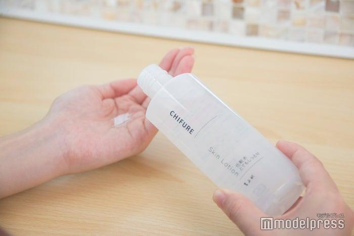 【ちふれ】中身にこだわり、パッケージはシンプルに「ちふれ 化粧水 とてもしっとりタイプ」560円(税抜)(C)モデルプレス